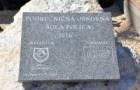 Postavitev temeljnega kamna za novo šolo na Polici