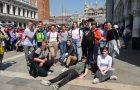 """""""Zlati bralci"""" na nagradnem izletu v Benetkah"""