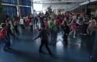 Plesno rajanje učencev 1. triletja