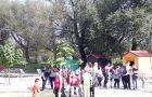 Pohod ob Savi do mini živalskega vrta